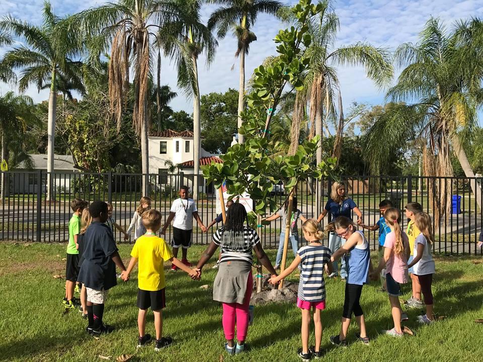 Abor Day Tree Planting 2018